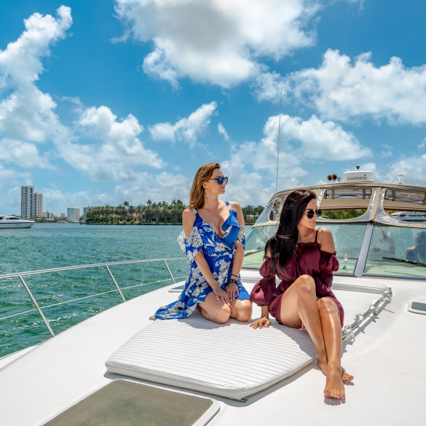 Spoil yourself aboard the Recess Boat Cruise in Miami