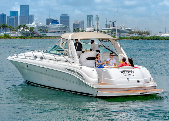 Recess Sport Yacht in Miami