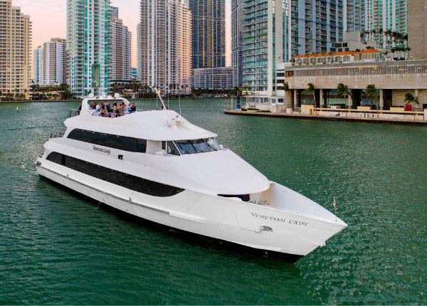 Venetian Lady Yacht in Miami Florida